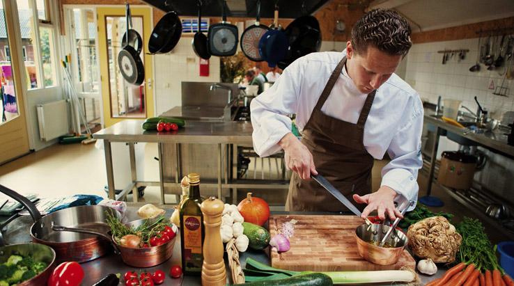 Niels kookt